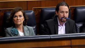 "Iglesias ironiza sobre García Egea, ""campeón de lanzamiento de huesos de aceituna"""