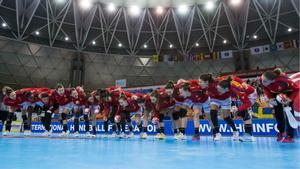 La selección española se conjura antes del partido ante Noruega