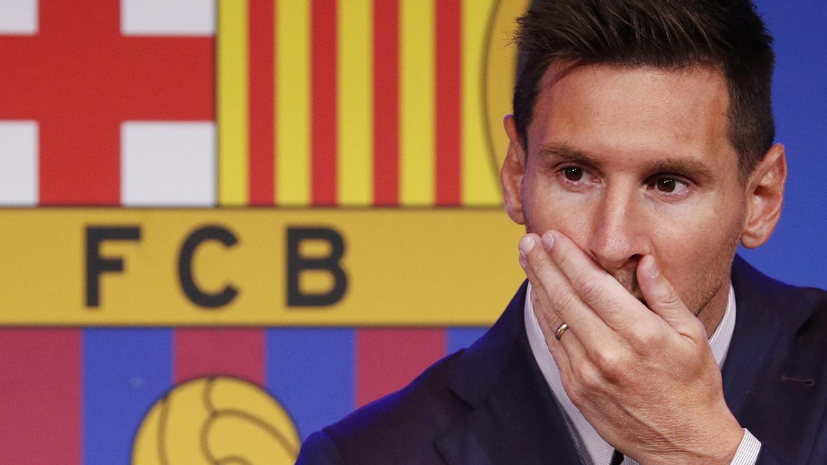 Incredulidad y tristeza: La reacción del barcelonismo tras la salida de Leo Messi.