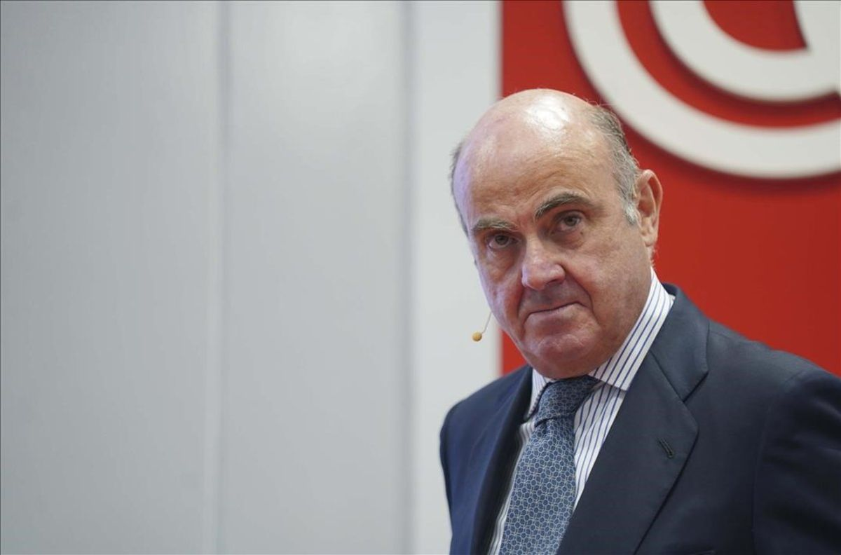 El vicepresidente del Banco Central Europeo (BCE),Luis de Guindos.
