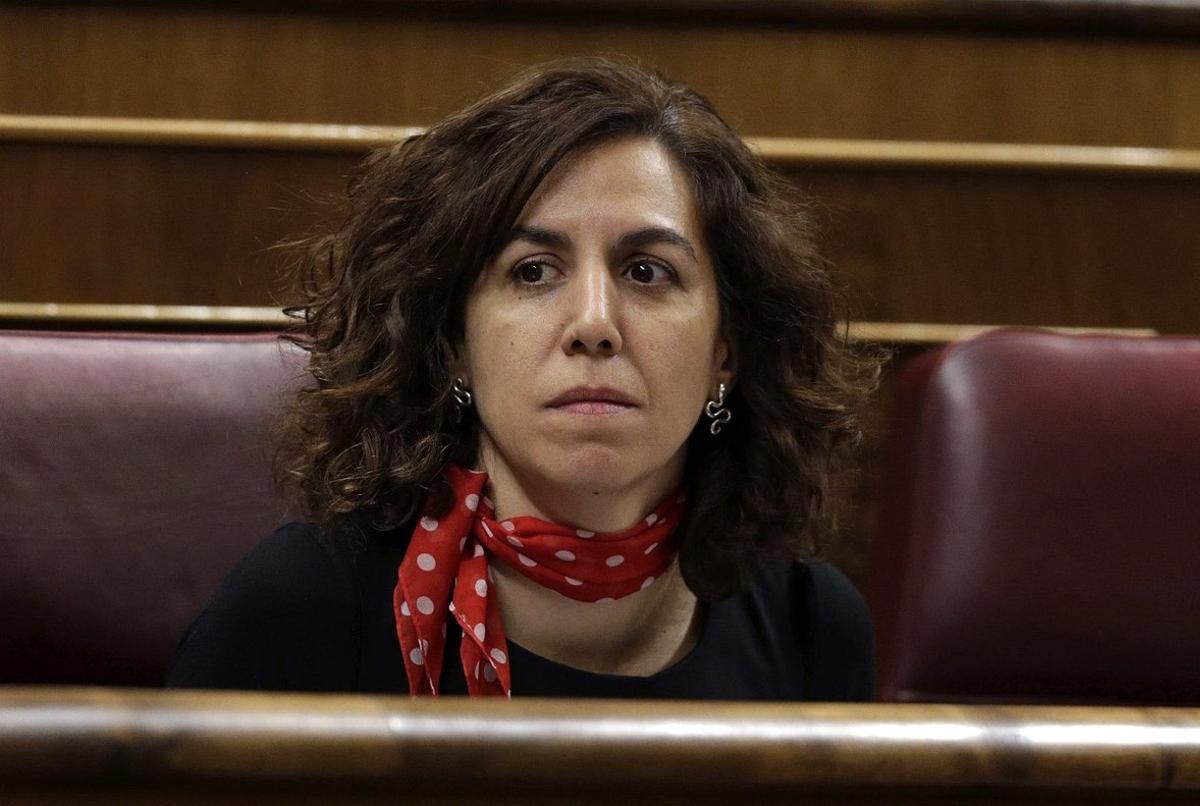La exdiputada del PSOE y de UPyD Irene Lozano.
