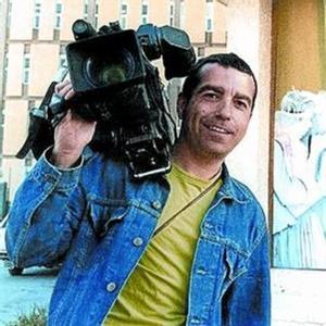 El reportero de Tele 5 asesinado en Irak José Couso.
