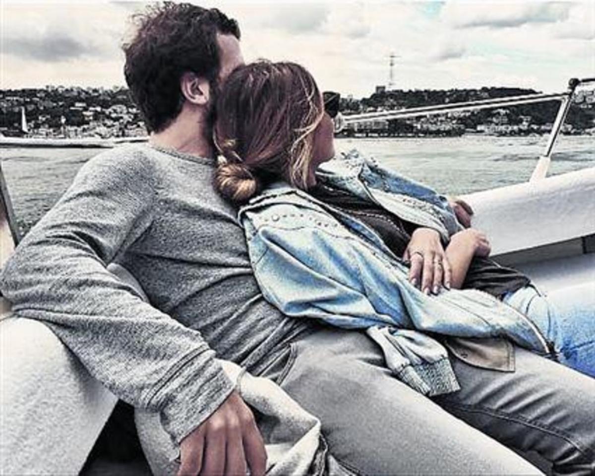UN AÑO DE AMOR EN INSTAGRAM.La pareja es aficionada a documentarsu amor y sus viajes en la red social.