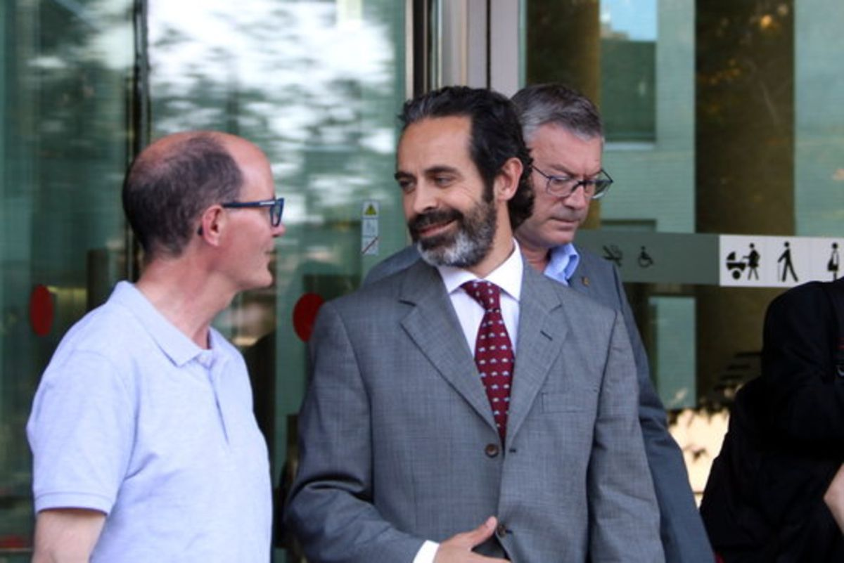 Antoni Molons en la Ciutat de la Justícia, en una imágen de archivo.