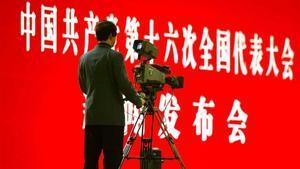 Periodistes en perill d'extinció a la Xina