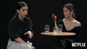 Claudia Salas habla de su personaje en la cuarta temporada de 'Élite'.