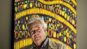 El escritor mexicano Gonzalo Celorio, en Barcelona.