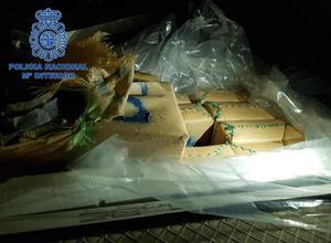 Interceptado un tráiler en Almería con ocho toneladas de hachís