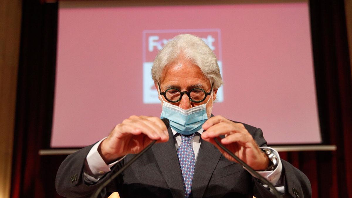Josep Sánchez Llibre se manifiesta a favor de la ampliación del aeropuerto.