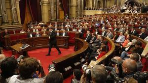 SegurCaixa cancel·la les seves assegurances de responsabilitat amb la Generalitat i el Parlament