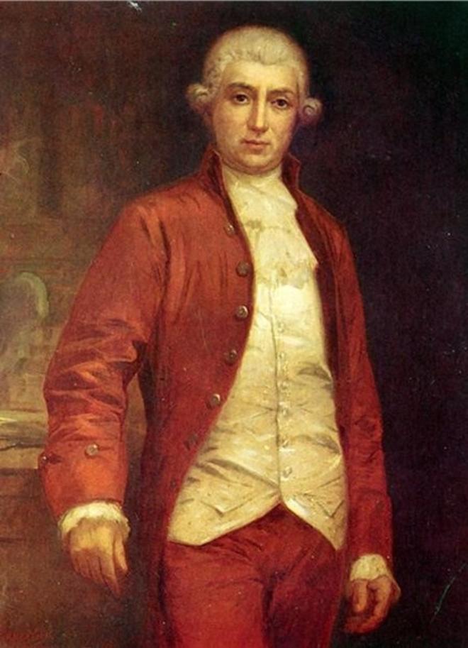 Retrato de Antonio de Gimbernat, médico y cirujano.