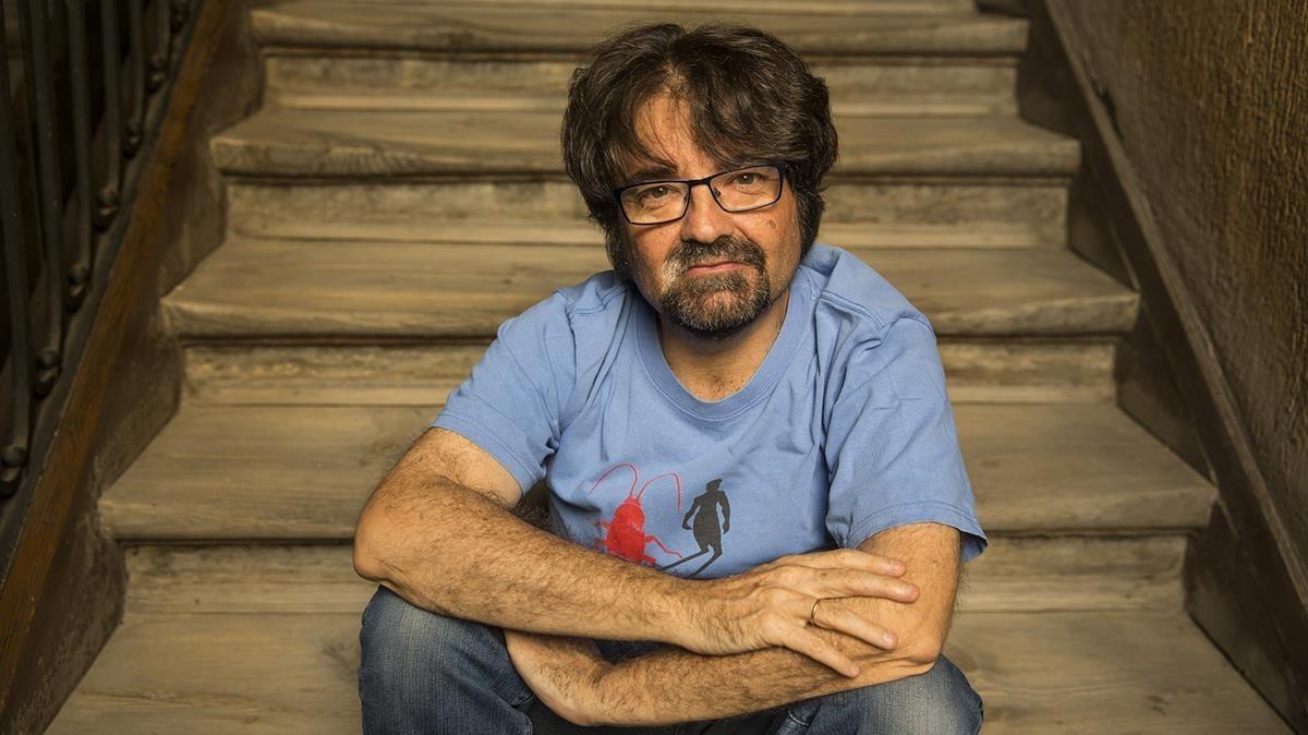 El editor Juan Casamayor.