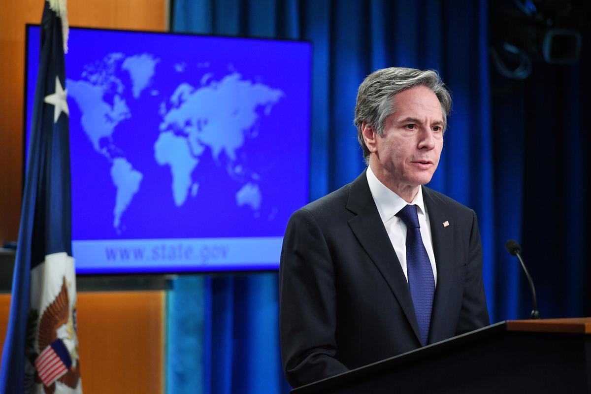 El secretario de Estado de EEUU, Antony Blinken, presenta el informe sobre los derechos humanos en el mundo.