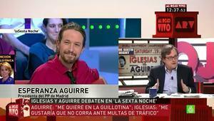 Francisco Marhuenda en el programa 'Al rojo vivo'