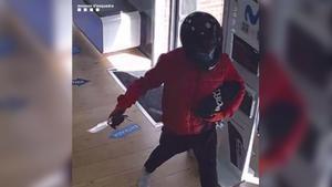 Imagen del ladrón, facilitada por los Mossos.