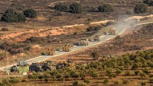 Turquia en el vesper sirià