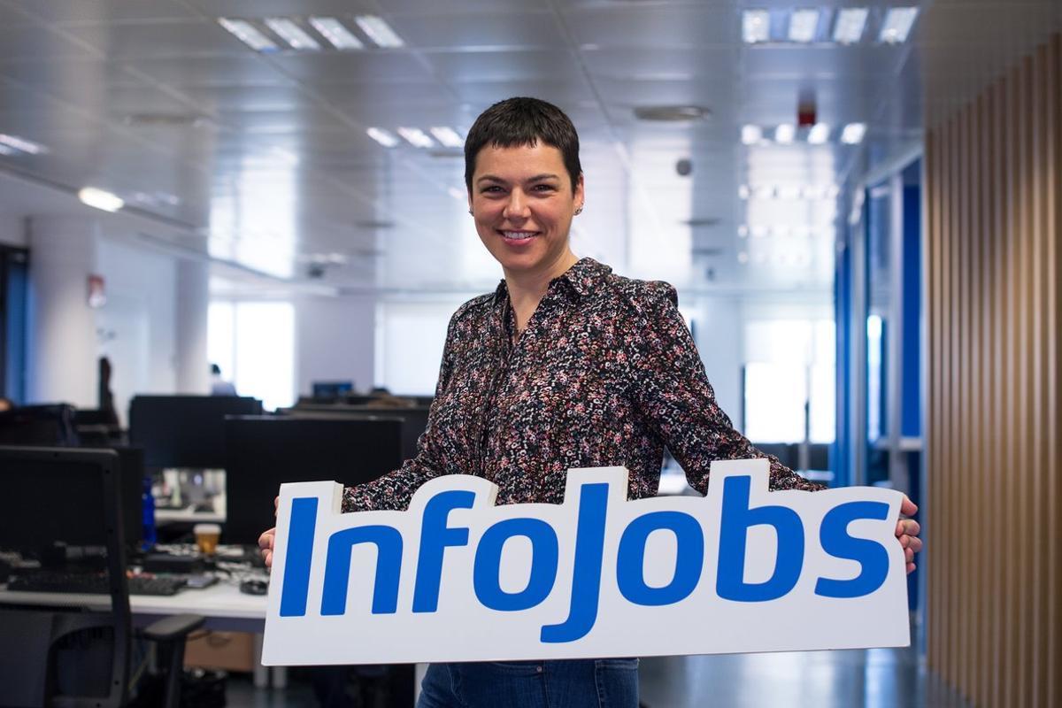 Judith Monmany,responsable de Comunicación de InfoJobs.//InfoJobs
