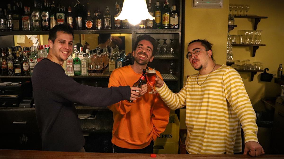 Barcelona 09 12 2020 Icult Retrato a Stay Homas  que publica primer disco  AUTOR  JORDI OTIX