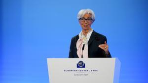 Lagarde: «L'eurozona recuperarà el nivell prepandèmia en el primer trimestre del 2022»