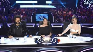 El jurado de 'Idol Kids' en la segunda semifinal.