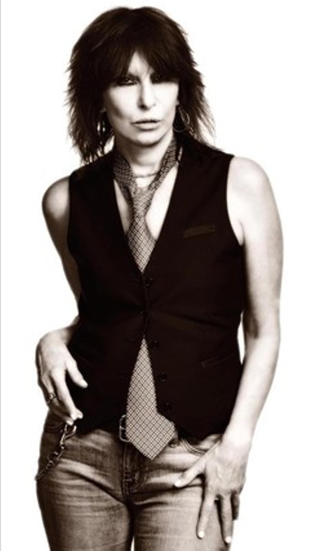 La cantante Chrissie Hynde, líder del grupo The Pretenders.