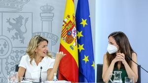 Yolanda Díaz i Ione Belarra: ¿quin paper té cada una dins de Podem i Unides Podem?