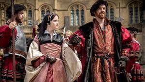 Damian Lewis, como Enrique VIII, en la seriede la BBC 'Wolf Hall'.