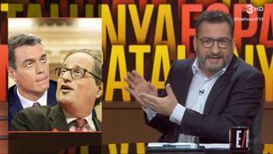 Sánchez y Torra, vistos porEstàpassant (TV-3).