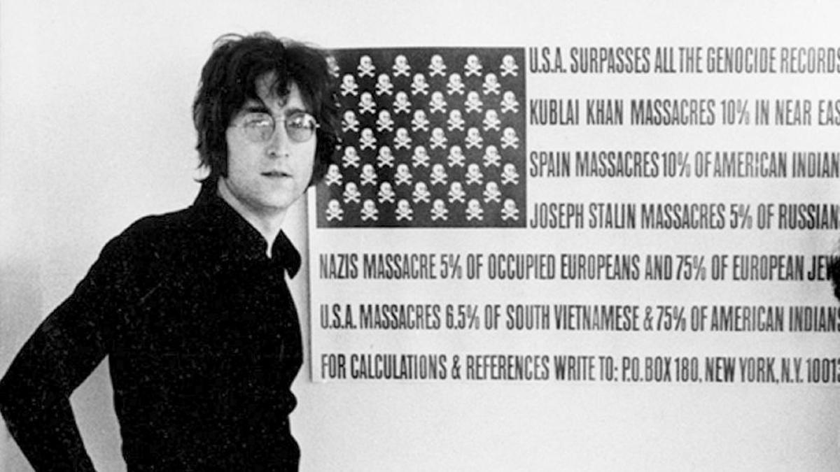 John Lennon, en los años 70.