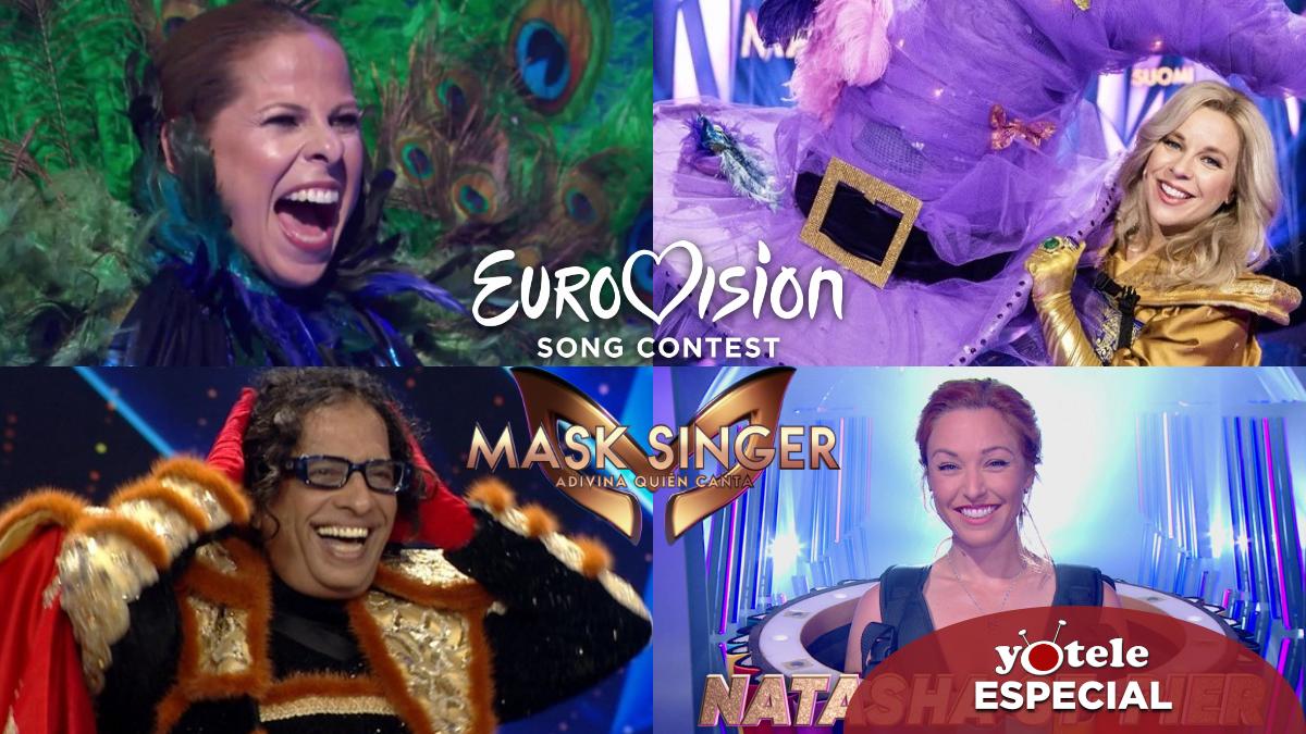 Algunos de los artistas eurovisivos que han participado en 'Mask Singer'