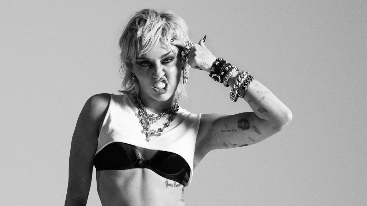 La cantante Miley Cyrus, en una imagen promocional