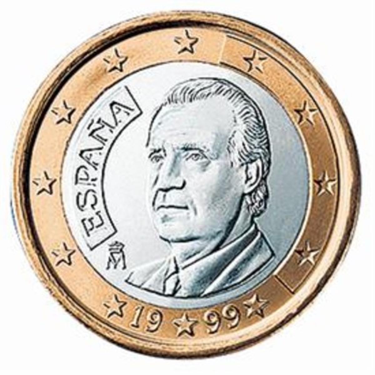 El euro actual.