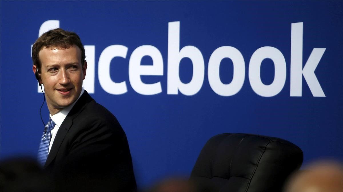 Mark Zuckerberg, CEO de Facebook, en una conferencia.