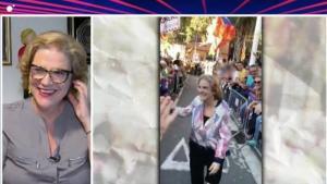 """Pilar Rahola habla de su comentado paseíllo en la manifestación independentista: """"Me siento avergonzada"""""""