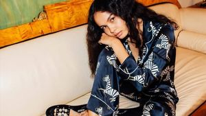 Olivia von Halle se ha asociado con Harrods para crear una coleccion de pijamas exclusiva de absoluto lujo