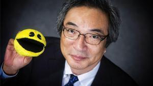 Toru Iwatani, creador del videojuego Pac-man (comecocos).