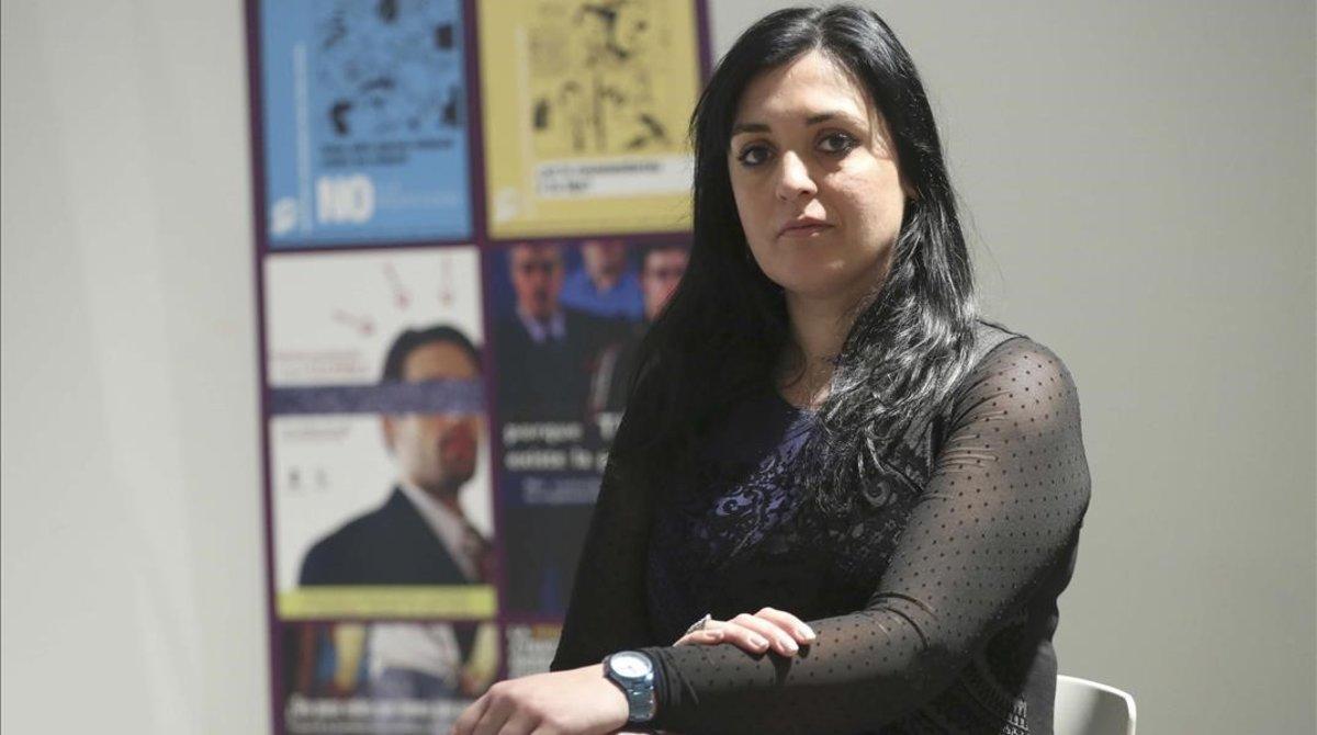 Amelia Tiganus, exprostituta y activista en contra de la trata con fines de explotación sexual.