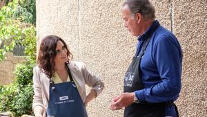Isabel Díaz Ayuso y Bertín Osborne en 'Mi casa es la tuya'.