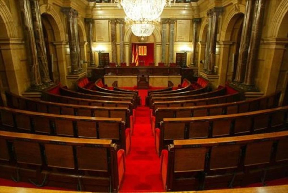 Imagen del Parlament de Catalunya.