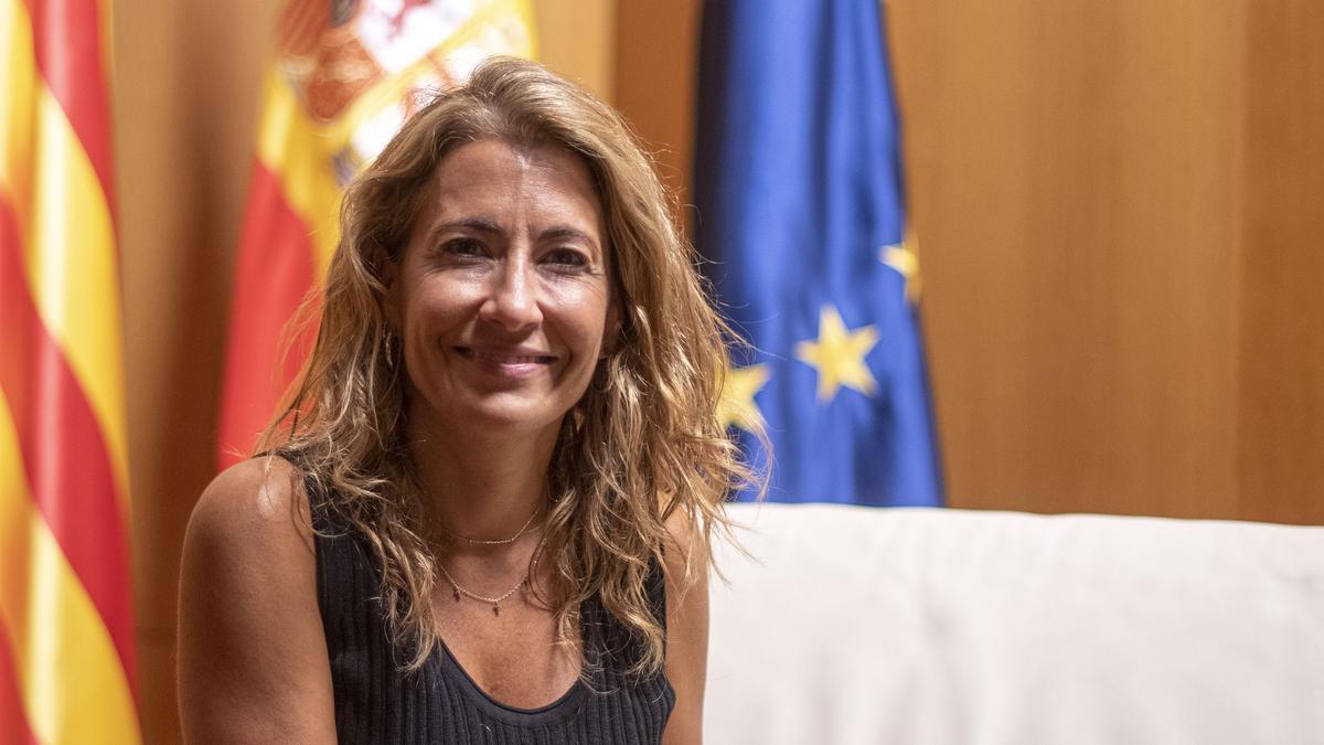 Entrevista a la ministra de transportes del Gobierno español, Raquel Sánchez
