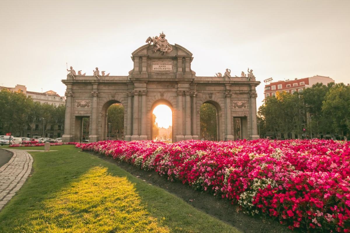 Imagen de la Puerta de Alcalá, en Madrid