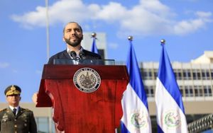 Nayib Bukele, persidente de El Salvador.