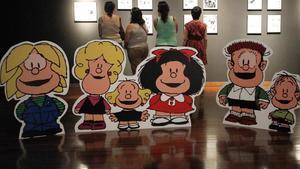 Felipe, Manolito, Susanita...: los amigos de Mafalda