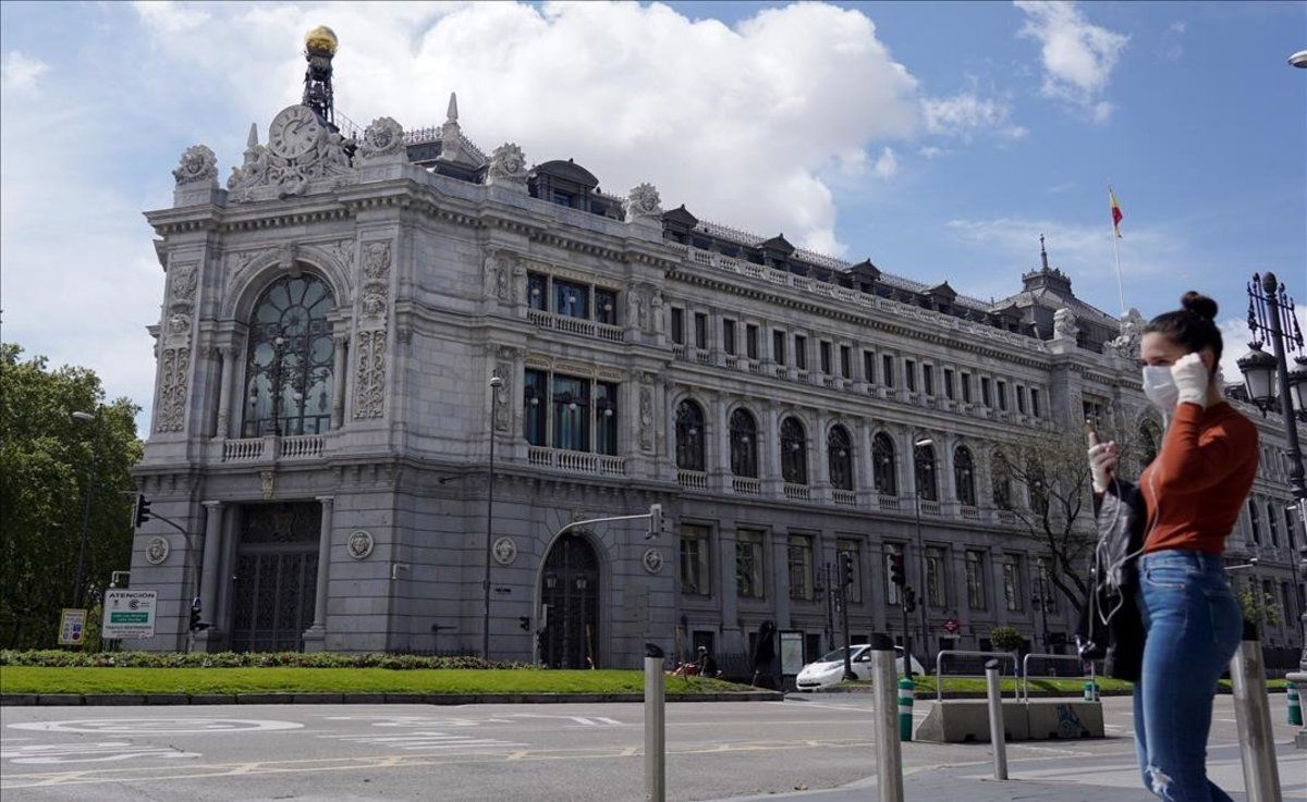 Edifico del Banco de España, en Madrid.