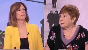 Mónica López y Celia Villalobos