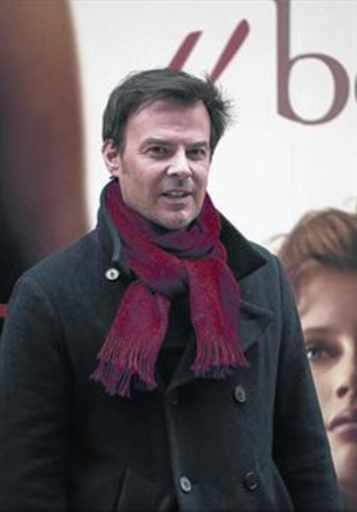 El director François Ozon, la semana pasada en Madrid.