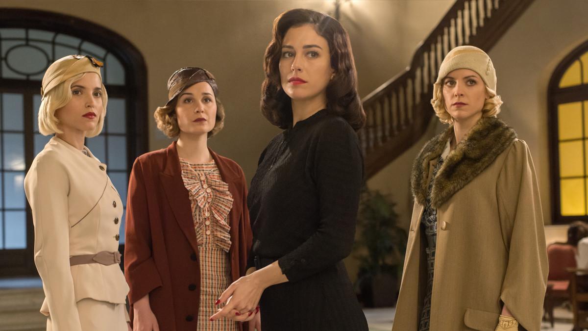 Las protagonistas de 'Las chicas del cable'.