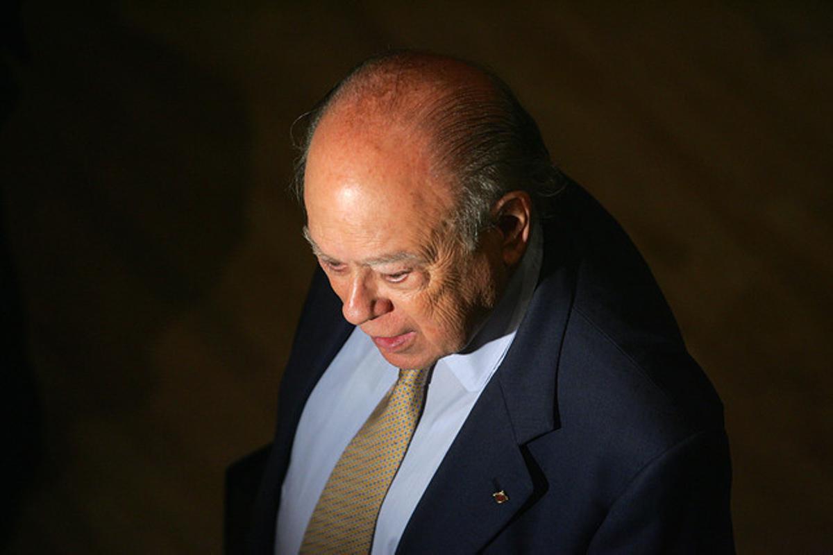 Jordi Pujol, en una imagen del 2013, en el centro Caixa Forum de Madrid.