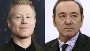 Los actores Anthony Rapp y Kevin Spacey.