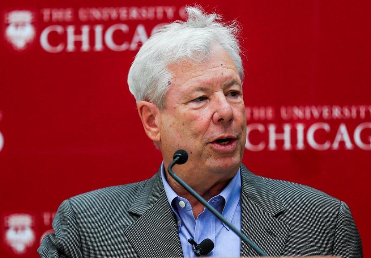 El premio Nobel de Economía de 2017, el profesor Richard Thaler.